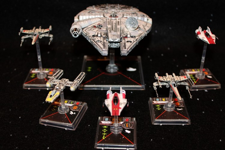 Star Wars games - X-Wing ships