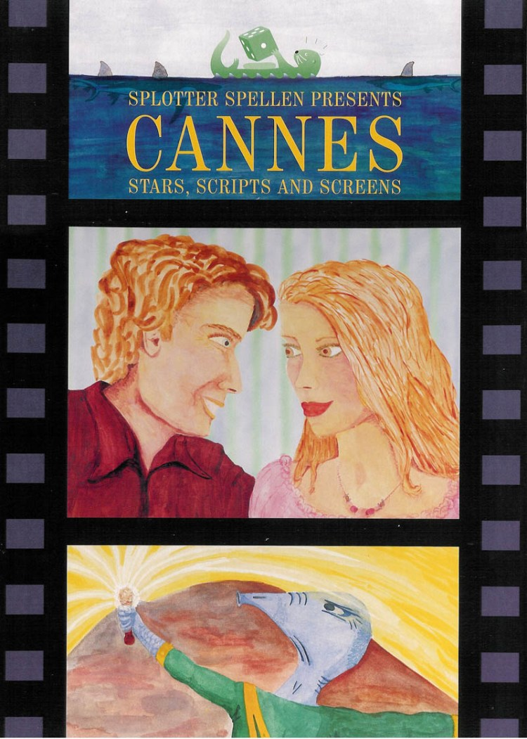 Worst Board Game Box Art Ever - Cannes