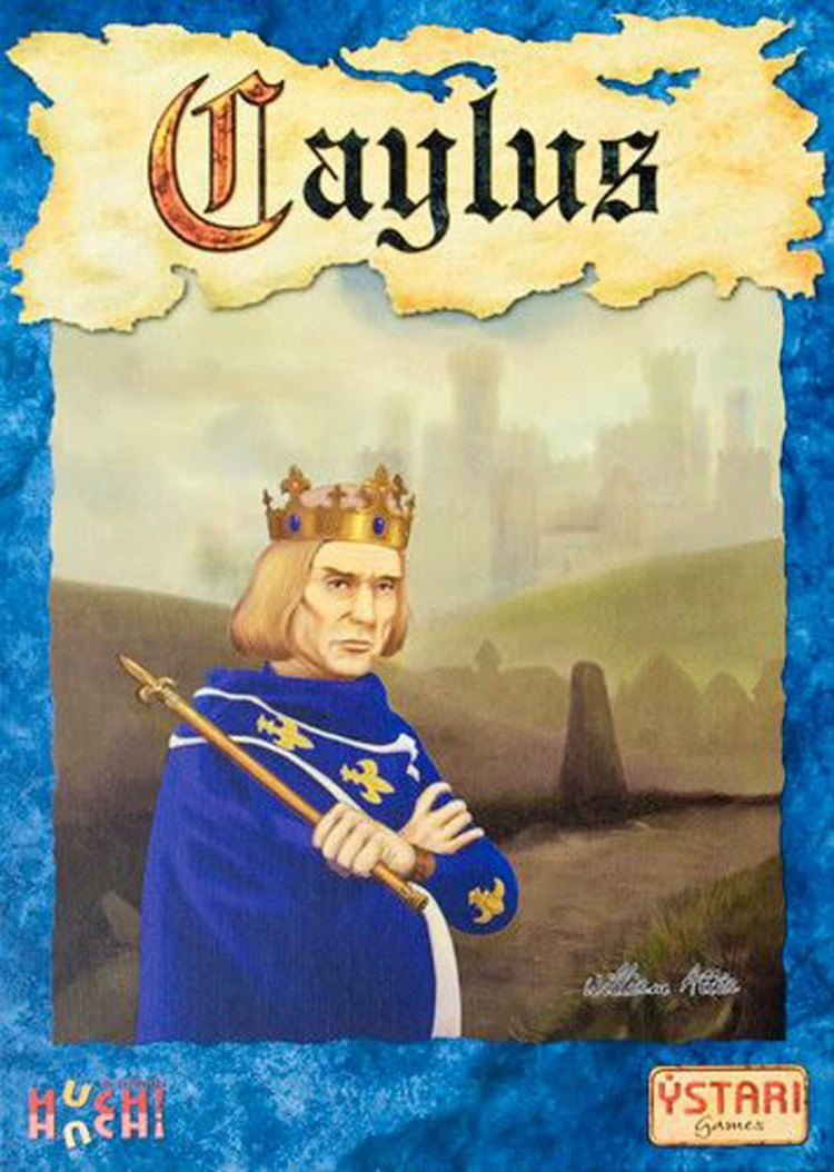 Worst Board Game Box Art Ever - Caylus