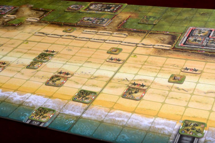 Tabletop D-Day - Heroes of Normandie Omaha Beach