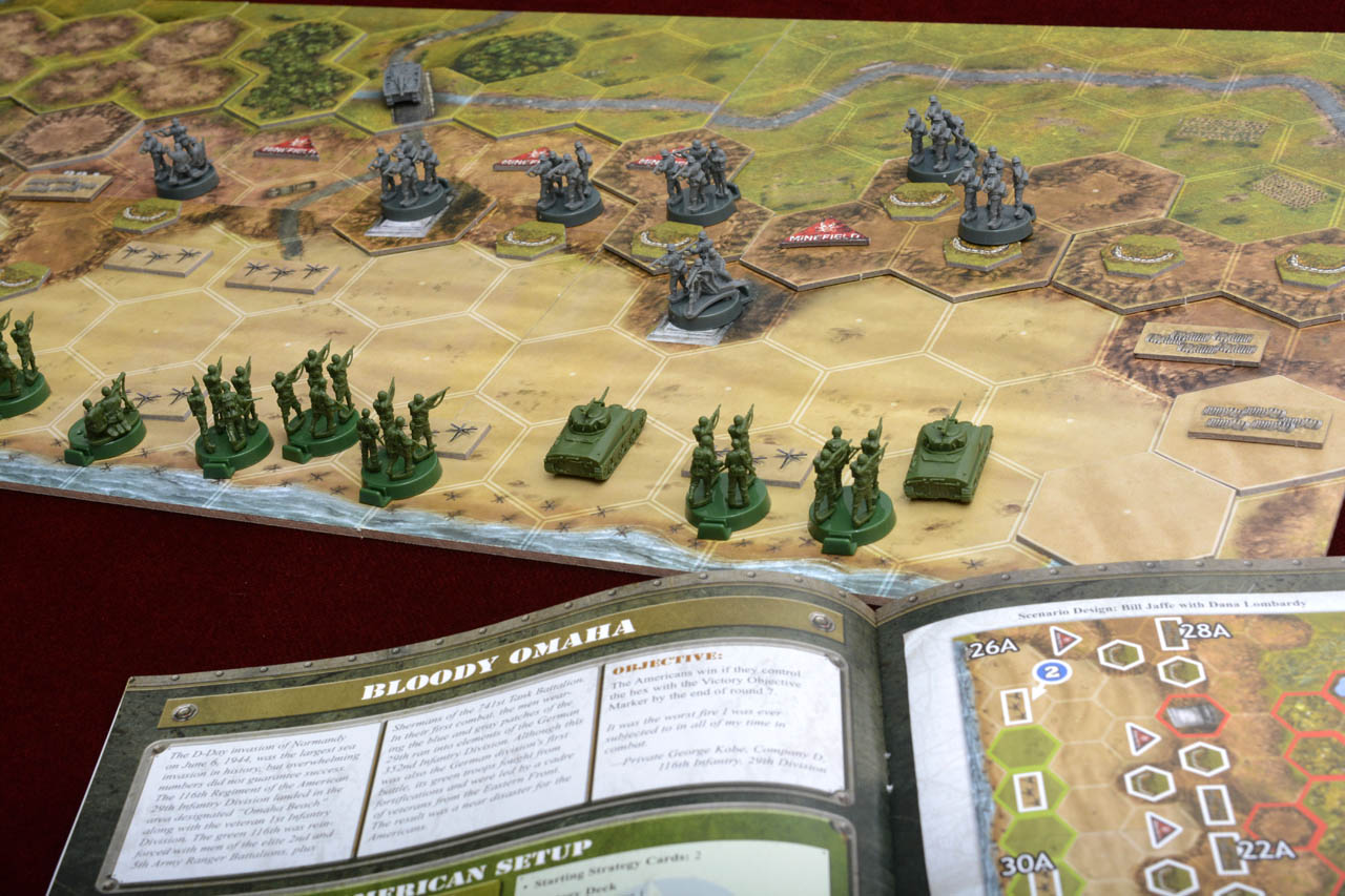 REVIEW] Tabletop D-Day With 3 Games And 3 Famous Fights