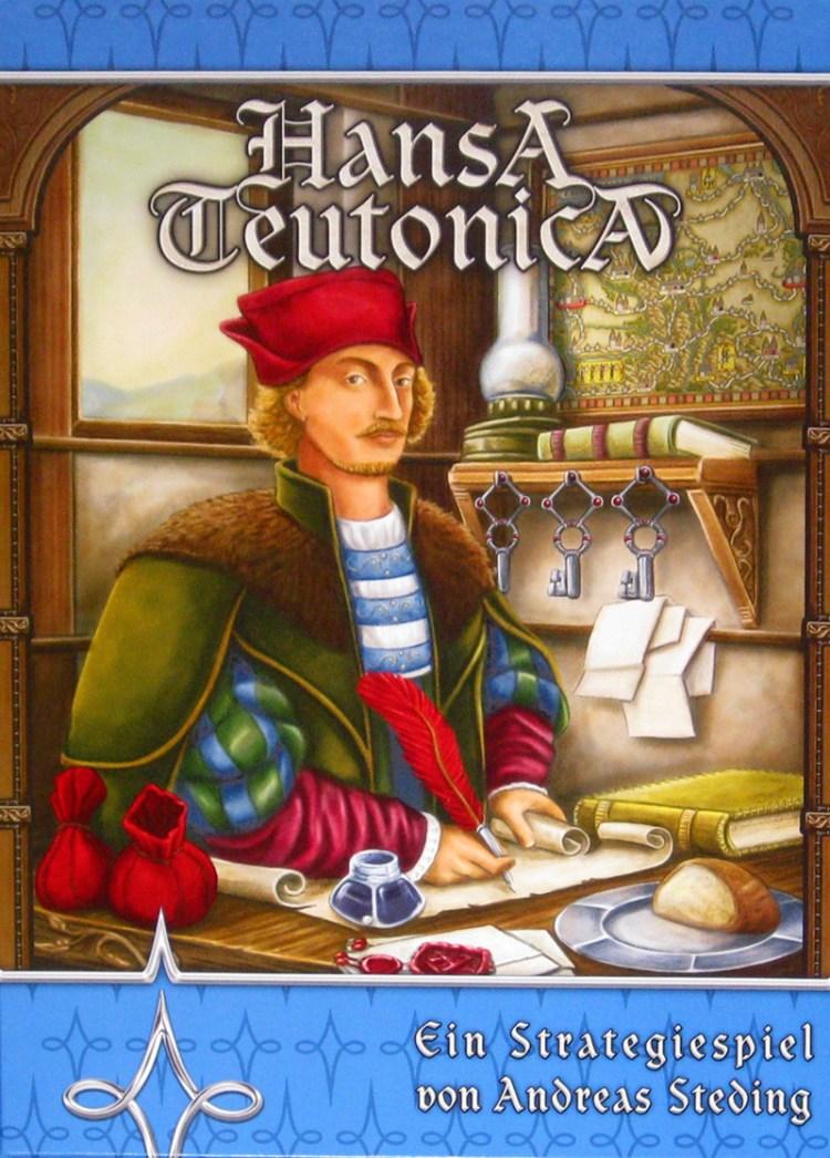 Worst Board Game Box Art Ever - Hansa Teutonica