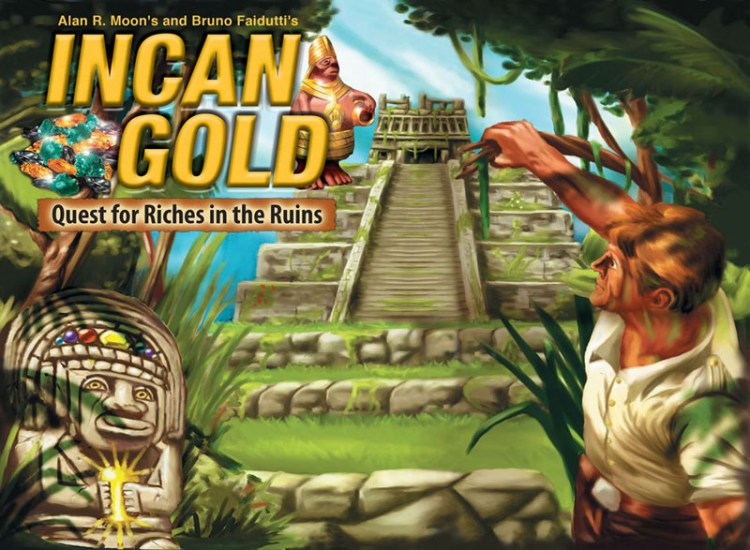 Worst Board Game Box Art Ever - Incan Gold