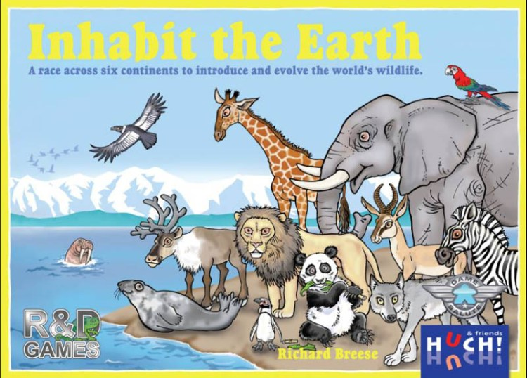 Worst Board Game Box Art Ever - Inhabit The Earth