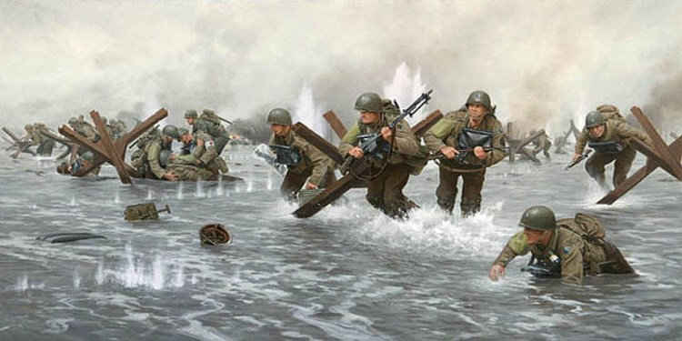 Tabletop D-Day - Omaha Beach