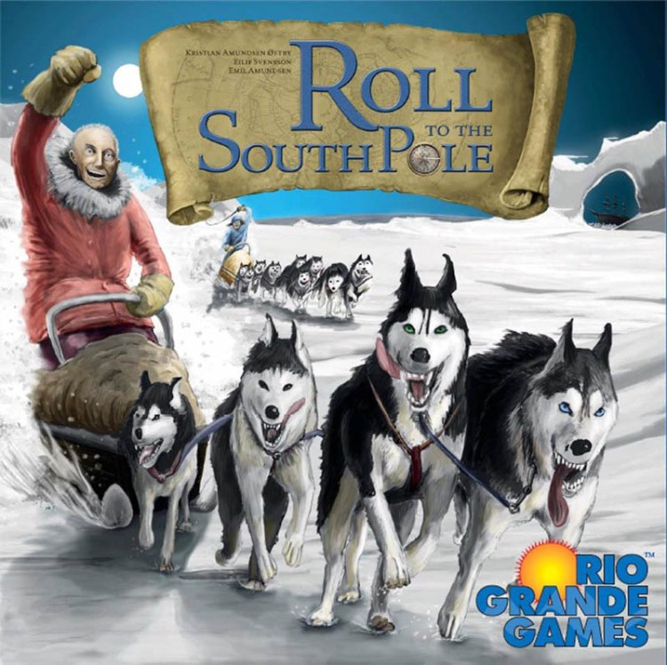Worst Board Game Box Art Ever - Roll To The South Pole