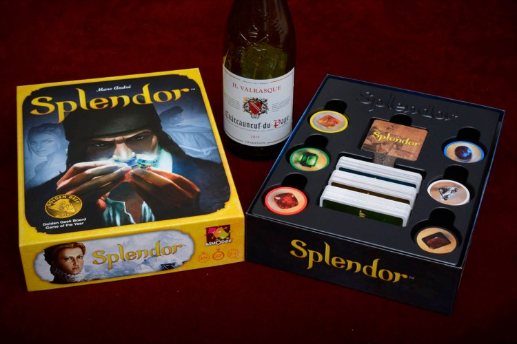 Century Spice Road vs Splendor - Splendor box
