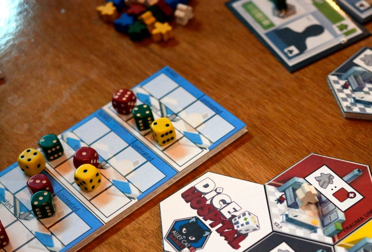 UK Games Expo 2017 Press Preview - Dice Hospital 3
