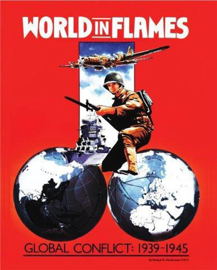 Worst Board Game Box Art Ever - World In Flames