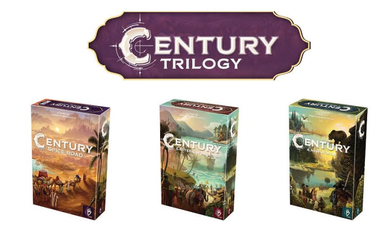 Century Spice Road vs Splendor - Century trilogy