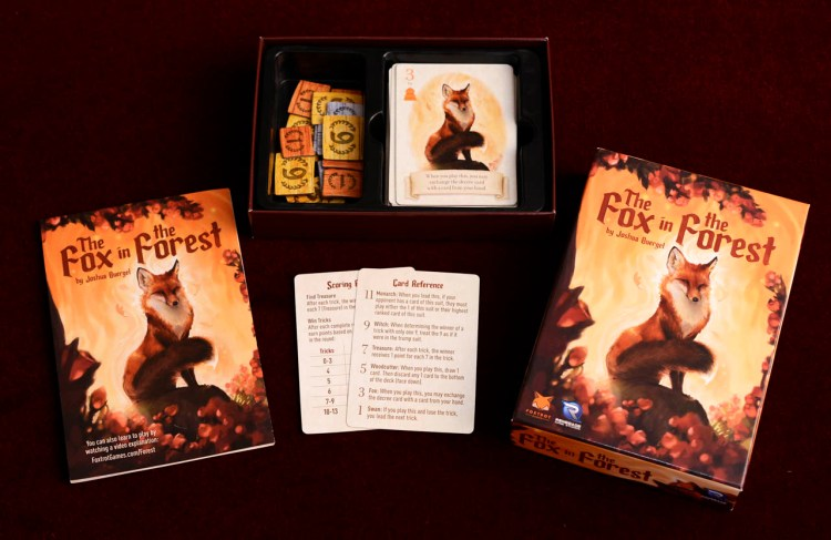 The Fox In The Forest - Box Contents