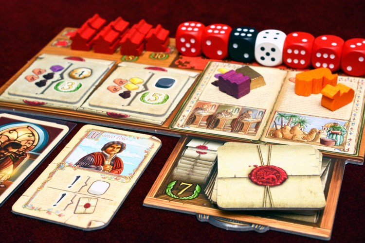The Voyages of Marco Polo - Player Board