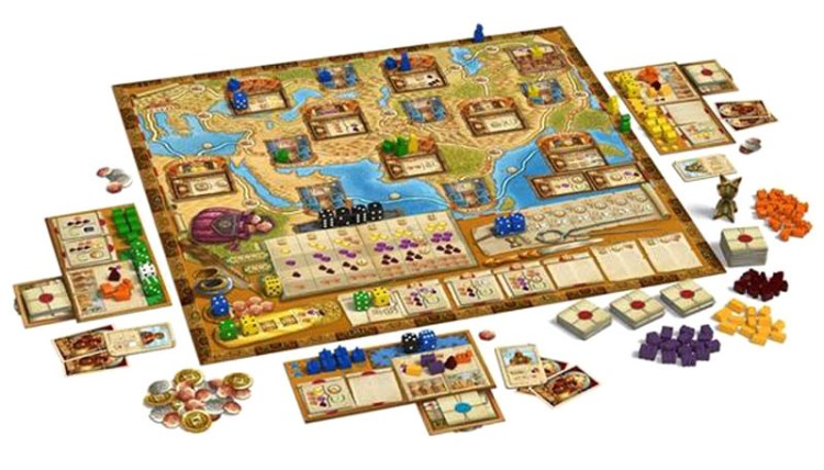 The Voyages of Marco Polo - Set up