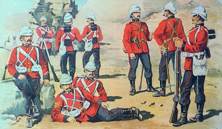 Paper Soldiers - Victorian soldiering
