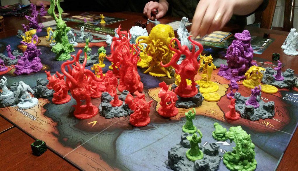 CTHULHU WARS Lot of 6 LIGHT BLUE ALTERNATE ACOLYTE Miniature Figures NEW!!