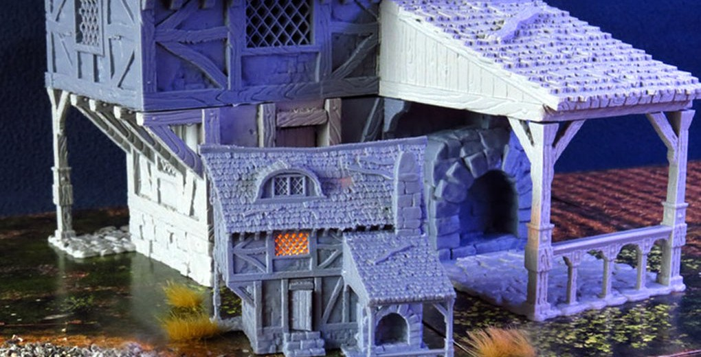 REVIEW] City of Tarok: 3D Printable Buildings For 28mm (And Smaller