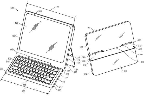 RIM ubiega się o patent na tablet z chowaną klawiaturą
