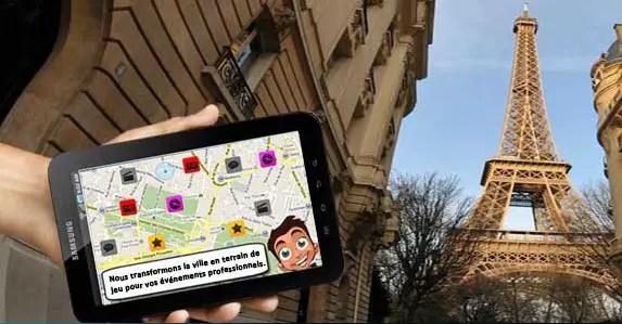 Tablettes tactiles pour réunions professionnelles et team building avec Urban Gaming