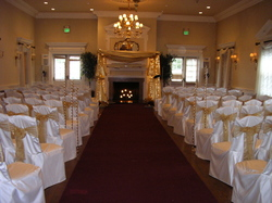 ivory chair covers spandex cloth portable high reception halls gallery 2