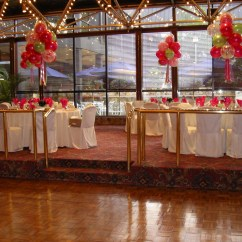 Ivory Chair Covers With Gold Sash Hanging Kuwait Reception Halls Gallery 2