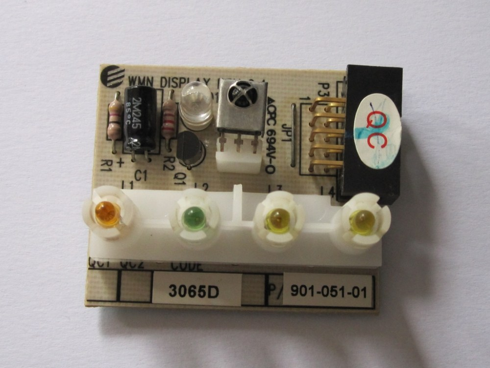 medium resolution of ir receiver board from an airwell air conditioning unit