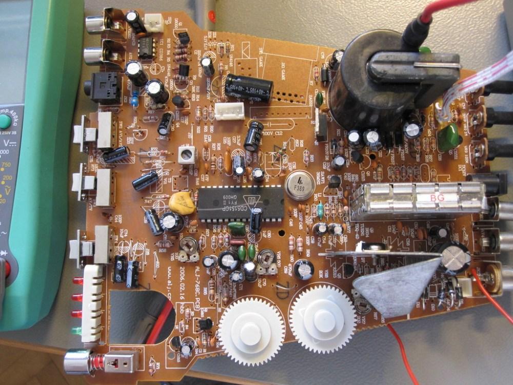medium resolution of united utv 6007 tv circuit board