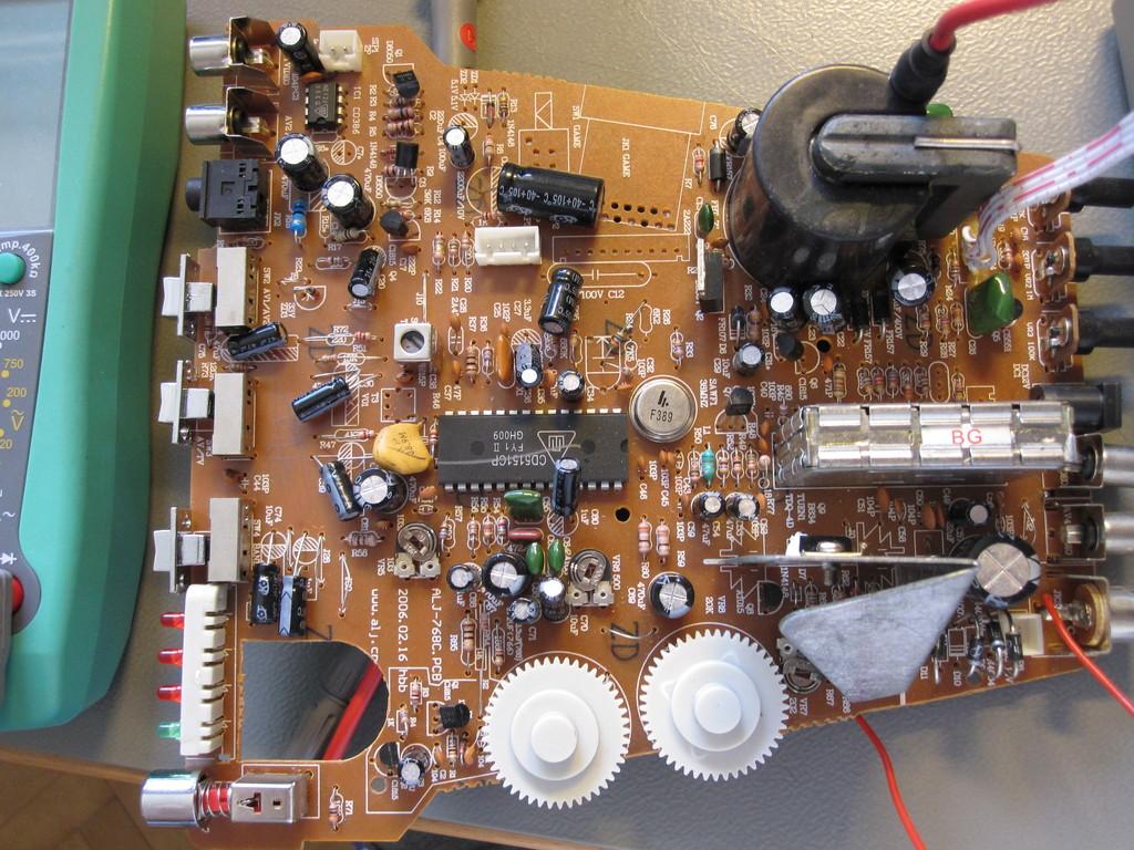 hight resolution of united utv 6007 tv circuit board