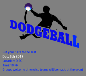 millikin IM dodgeball poster