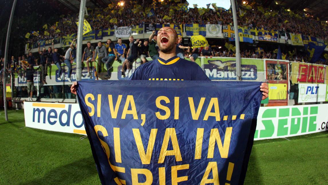 L'Hellas Verona libera il paracadute e fa felice la Serie A