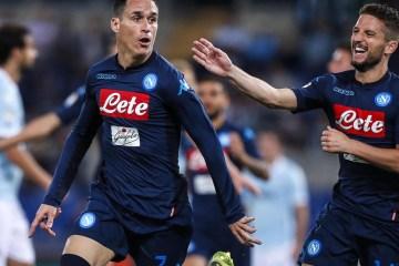 Lazio-Napoli stagione 2017/2018