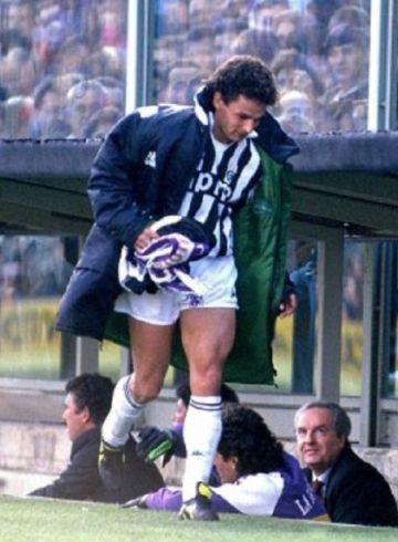 Baggio rivalità tra Juventus e Fiorentina