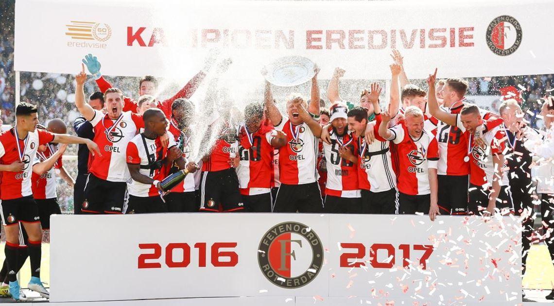 Classifiche dei campionati europei Feyenoord Eredivisie