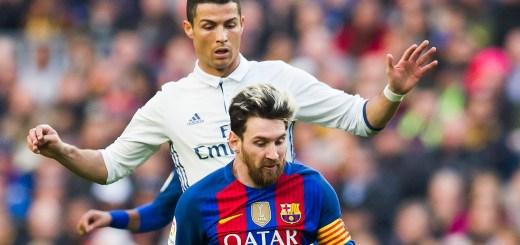 Messi Ronaldo Clasico