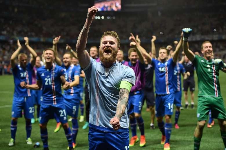 Islanda Euro 2016 Geyser Sound