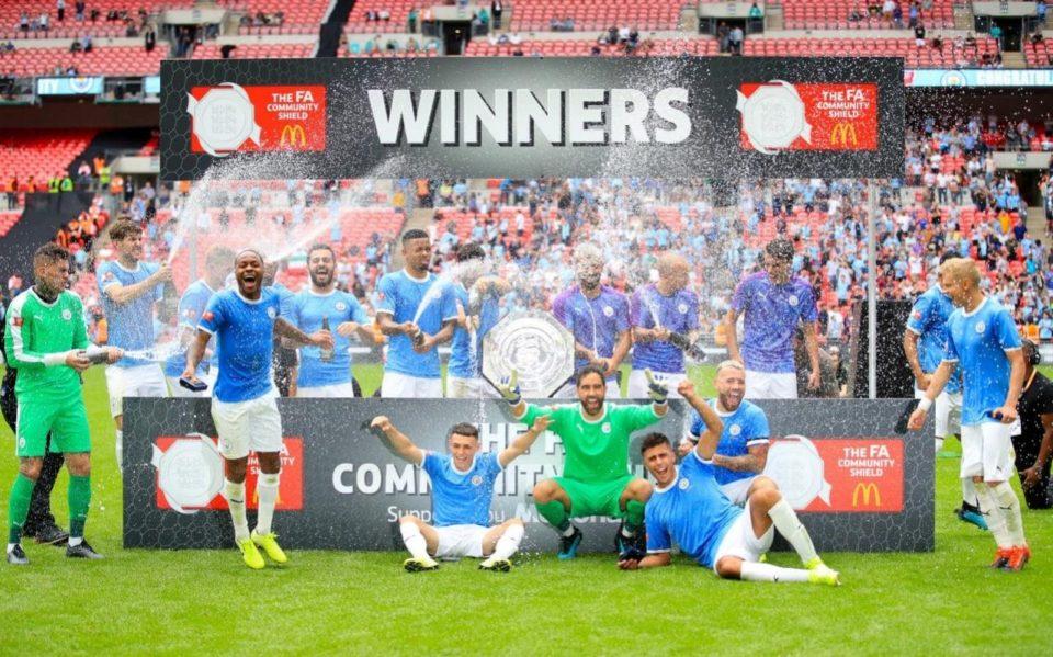 Man City wins CS 2019