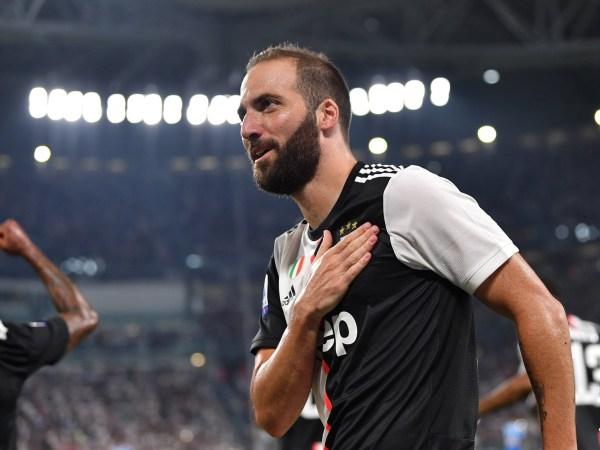 Higuaín Napoli's goal