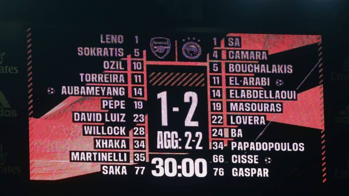 Arsenal-Olympiakos