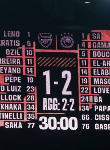 Arsenal-Olympiakos