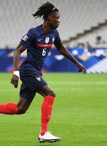 Eduardo Camavinga con la Francia