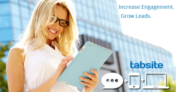 Grow leads and boost engagement with TabSite for Web and Facebook