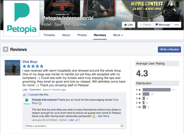 Keri Jaehnig of Idea Girl Media explains how Reviews work on the new Facebook Page Layout 2014 for TabSite