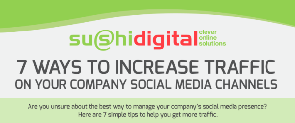 How to Increase Traffic to Your Social Media Sites 1