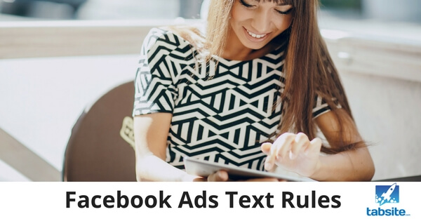 Facebook Ads Text Rules - 315