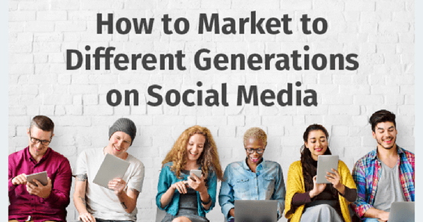 How to Market to Each Generation - Infographic