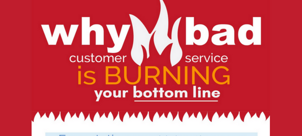 [Infographic] How to Ruin Your Business with Bad Customer Service-315