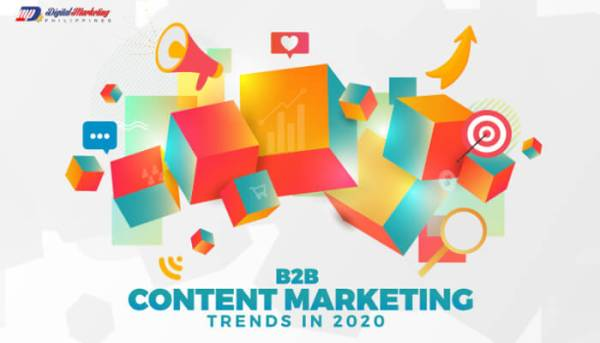 Infographic B2B Content Marketing Trends in 2020