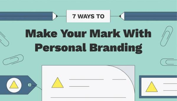 7 ways to make your mark- personal branding.