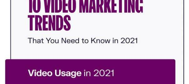 10 Video Marketing Trends You Need To Know In 2021