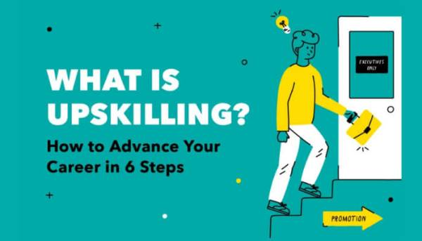 What is Upskilling- infographic