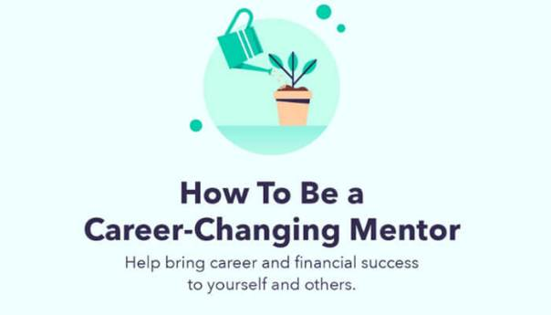 Infographic 5 tips to be a career-changing mentor.